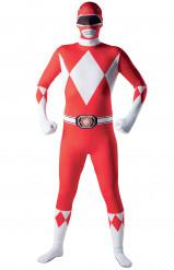 Disfraz segunda piel Power Rangers™ adulto