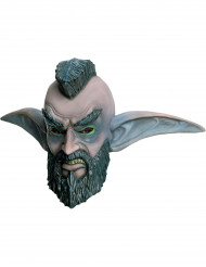 Máscara Elfo de la noche Mohicano World of Warcraft™adulto