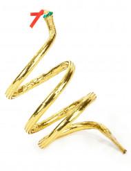 Brazalete serpiente dorado
