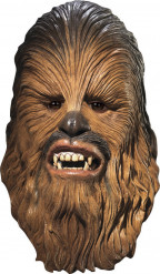 Máscara Chewbacca Star wars™ lujo adulto