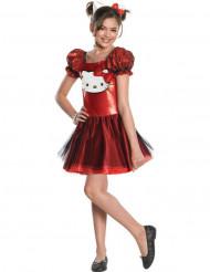 Disfraz rojo de Hello Kitty™ niña