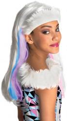 Peluca Abbey Bominable Monster High™ niña