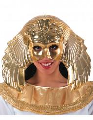 Máscara dorada reina egipcia mujer