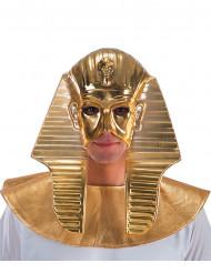 Semi máscara dorada faraón hombre