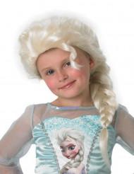 Peluca de Elsa Frozen™ niña