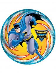 8 Platos Batman™ 23 cm