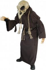 Disfraz esqueleto buitre adulto
