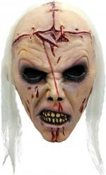 Máscara zombie loco adulto