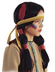 peluca india pluma niño