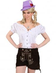 Camisa bávara mujer