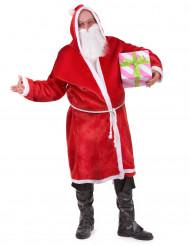 Disfraz de Papa Noel para adulto con barba