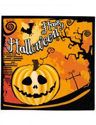 20 servilletas Halloween
