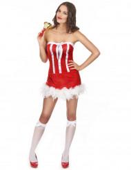 Disfraz de Navidad sexy mujer