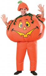 Disfraz de calabaza hinchable adulto Halloween