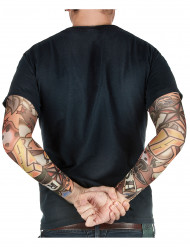 Mangas tatuajes falsos adulto
