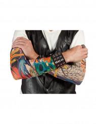 Mangas con tatuajes falsos