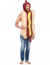 Disfraz de hot dog adulto