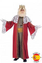 Disfraz de Rey Mago Melchor lujo adulto