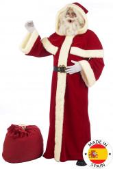 Disfraz de Papa Noel lujo adulto - Premium