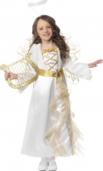 Disfraz de ángel niña Navidad