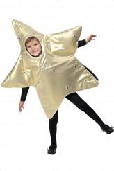 Disfraz de estrella infantil Navidad