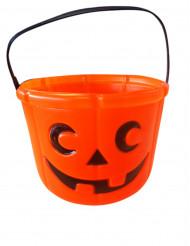 Cubo calabaza Halloween
