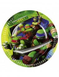 8 platos Tortugas Ninja™