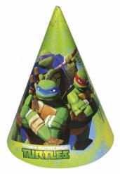 6 sombreros de fiesta Tortugas Ninja™