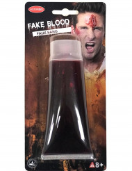 Tubo de sangre falsa 100 ml Halloween