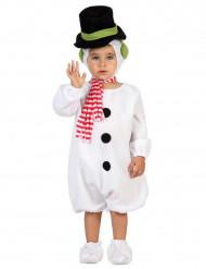 Disfraz de muñeco de nieve bebé Navidad
