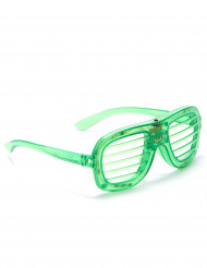 Gafas verdes LED