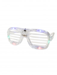 Gafas transparentes LED
