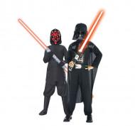 Disfraz duo Dark Vador™ y Darth Maul™ niño