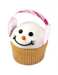 12 Decoraciones para cupcake orejeras