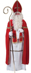 Disfraz papa San Nicolás lujo hombre