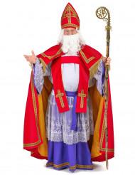 Disfraz de papa San Nicolás lujo hombre
