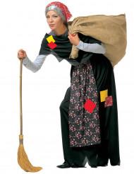 Disfraz bruja Befana adulto