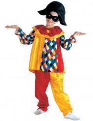 Disfraz de arlequín niño
