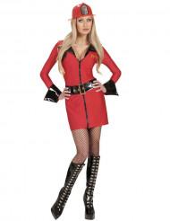 Disfraz de bombero sexy mujer