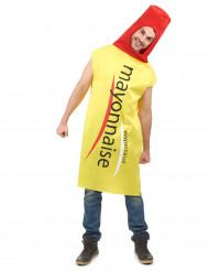 Disfraz de mayonesa adulto