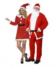Disfraz de pareja Mamá y Papá Noel