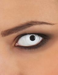 Lentillas de contacto ojo blanco