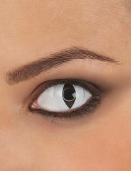 Lentillas de contacto blancas ojo de reptil