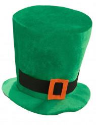 Sombrero terciopelo verde San Patricio