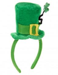 Mini sombrero con trébol San Patricio