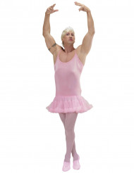 Disfraz bailarina rosa hombre