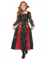 Disfraz de vampiro para niña Halloween