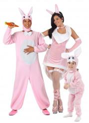 Disfraz de familia conejo