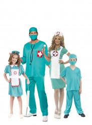 Disfraz de familia cirujano