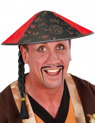 Sombrero chino asiático